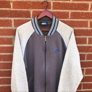 Vintage Nike blue tag zip up jacket